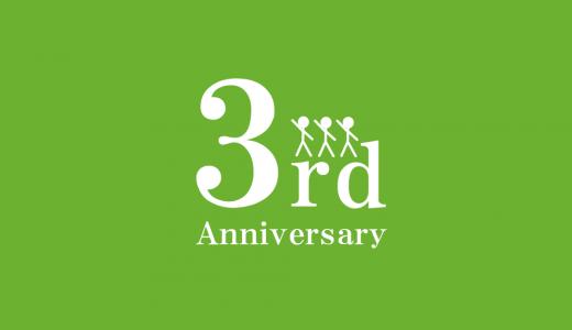 【終了】【ブログ3周年記念】総額14,820円分!有料記事パスワードプレゼント!